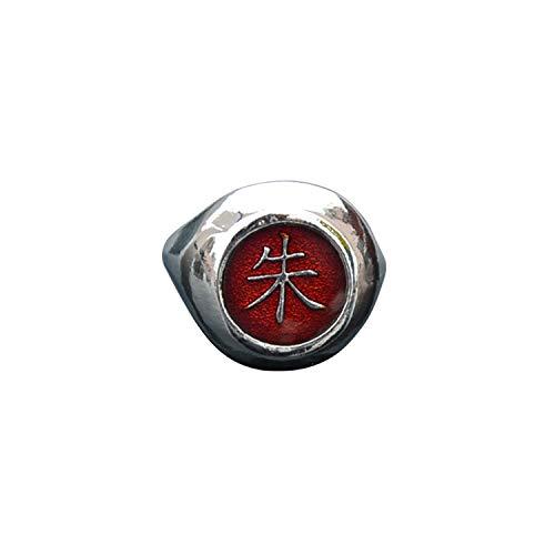 I3C Cosplay Anime Naruto Accesorio Colección Anillo Ring Zhu Uchiha Itachi...