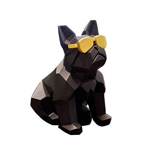 ZLBYB Animales Escultura de la decoración-Origami, Las Decoraciones Living Crafts RoomModern la decoración del Arte (Color : A)