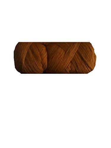 Laine pour la coiffure (tresses, vanilles etc) - Roux