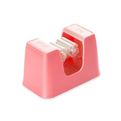 Honton Gancho para fregona sin agujeros para inodoro, resistente montado en la pared, ganchos para fregona y almacenamiento de herramientas, 9,5 x 5,6 cm, color rosa