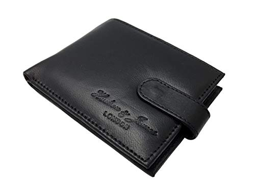 Designer Hudson & James London Real Leather Mens Wallet...