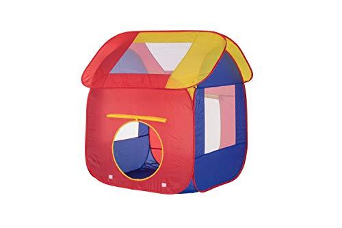Schramm® Kinderspielzelt Bällebad Pop Up Kinderzelt Spielzelt mit Tasche für drinnen und draußen Bälle Zelt Zelte Bällezelt Bällezelte
