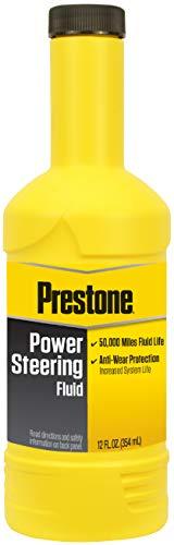 Prestone AS260 Power Steering Fluid, 50,000 Miles, 12 oz.