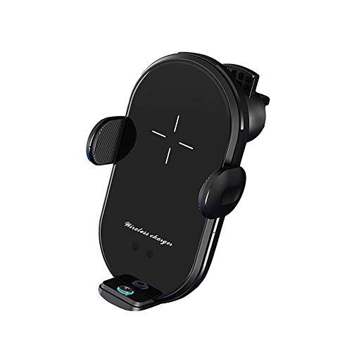 Cargador de automóviles inalámbrico Monte auto-sujeción Qi soporte de teléfono de carga de carga rápida compatible con iPhone11 / 11PRO / 11PROMAX & SAMSUNG S10 / S10 / Nota y todos los teléfonos habi