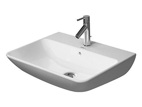 Duravit wastafel ME by Starck 600mm wit zijdemat, WG, 23356032001