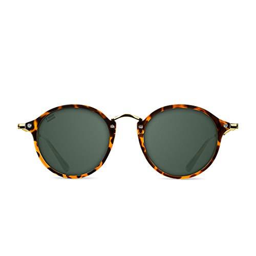 D. Franklin Unisex-Erwachsene Roller TR90 Sonnenbrille, Schwarz (Carey), 48