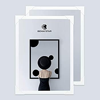 Bemaystar 2 Pack 10x14in DIY Diamond Painting Frames Paint with Diamonds Picture Frames for Diamond Art Horizontally or Vertically Display Compatible with 30x40cm or 40x30cm Canvas  White