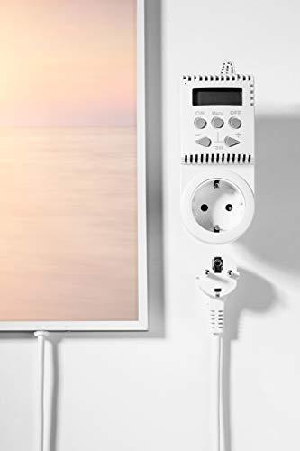 Bildheizung Infrarotheizung mit Digitalthermostat – 5 Jahre Herstellergarantie – Unsere kaufen  Bild 1*