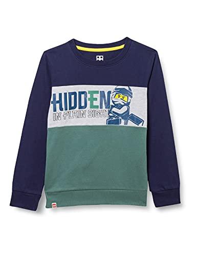 LEGO Ninjago Sweatshirt Sudadera, 864, 134 para Niños