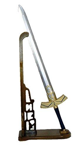 Kiumi エクスカリバー 西洋剣 洋剣 全長約91㎝ コスプレ 道具 武器 カリバーン アーサー王 セイバー P09