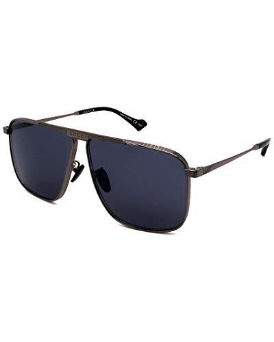 Gucci Gafas de sol GG0840S 001 Gafas de sol Hombre color Gris lente gris talla 63 mm