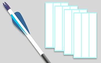 Arrowwraps for Carbon Arrows 1
