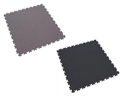 Fortelock® Vinylfliese 2020 ECO (Leder) (Schwarz)