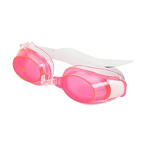 Natación Gafas Adultos Unisex Anti-Niebla Natación Gafas Gafas Gafas De Nariz Clip Oreja Enchufe Conjunto (Color : Pink, Size : Other)