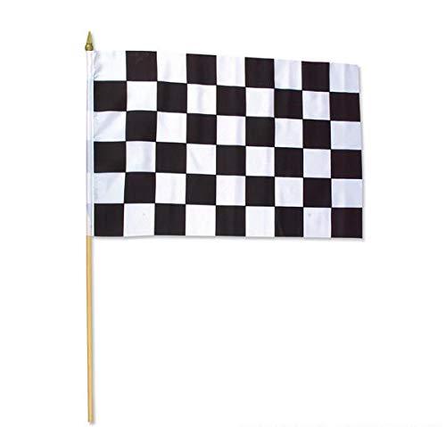 Rhode Island Novelty 12 x 18 Inch Racing Flag Polyester, One Dozen per Order