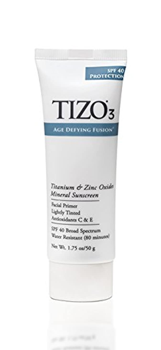 タンクレーザ言い直すTizo 3 Facial Mineral Sunscreen Tinted SPF40 50ml