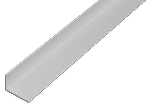 GAH-Alberts 473716 Winkelprofil-Aluminium, silberfarbig eloxiert, 1000 x 15 x 10 mm