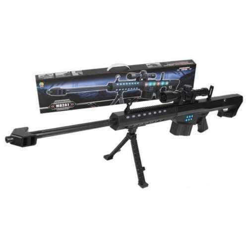 PM police Assault Rifle gun with sound camo Toy Gift Combat toy shot gun...