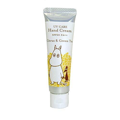 【ムーミン】UVケアハンドクリーム ローズブーケの香り SPF20 PA++ (ローズブーケ)
