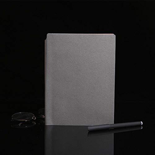 Office A5 Notebook Sub-Notebook Cuero Notebook, Gris