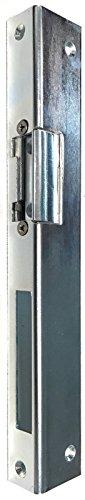 Elektrischer Türöffner Peso 300 6-12 Volt mit Schließblech Winkelschliessblech (3 x 25 x 35 x 250 mit Entriegelung links)