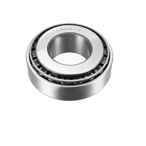 uxcell M86649/M86610 Tapered Roller Bearing Cone and Cup Set 1.1875