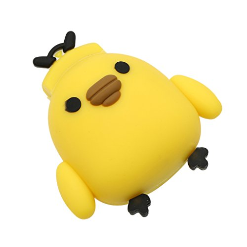 MonkeyJack Funny U Disk,Fashion Cute Cartoon Animal Fat Yellow Chicken Model USB2.0 Stick 32GB 128GB Flash Pen Drive - Fat Chicken, 32GB