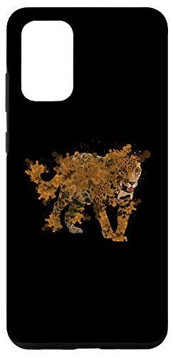 Galaxy S20+ Watercolor Jaguar Shirt Wild Animals Gift for Jaguar Lovers Case