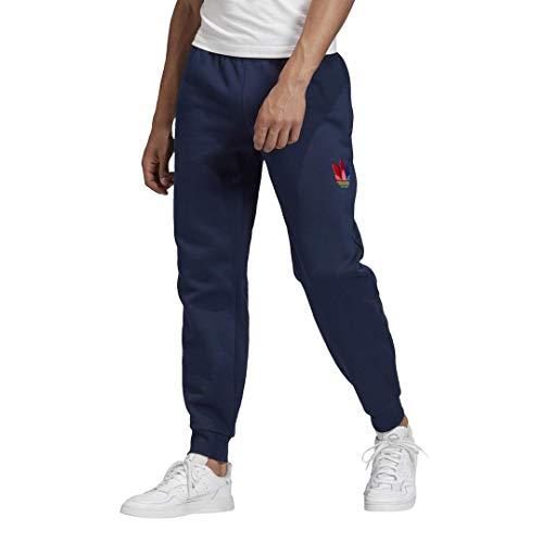 adidas Originals 3D Trefoil Graphic Sweat Pantalones para hombre - Azul - XX-Large