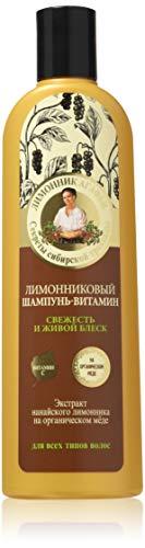 Grandma agafia's recipes 5 juices - Recetas de la abuela agafia citronela natural champú brillo natural pelo 280ml