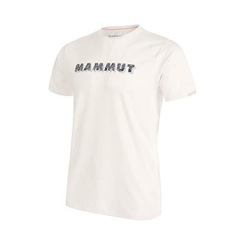Mammut Herren T-shirt Splide Logo, weiß, M