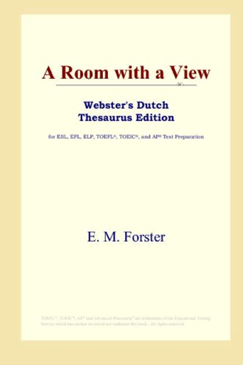 かすかなカイウス偽装するA Room with a View (Webster's Dutch Thesaurus Edition)