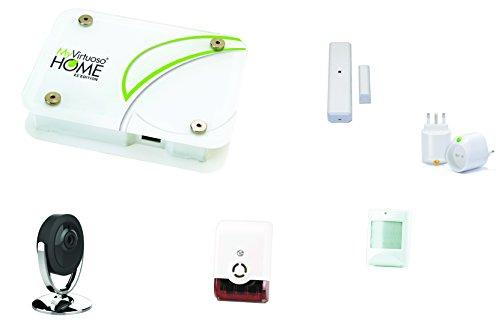 Alarmsysteem met MyVirtuoso Home ES2-camera's.