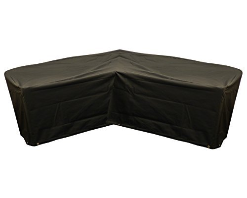 Bosmere Garden Furniture Cover, Black, 3m x 78cm