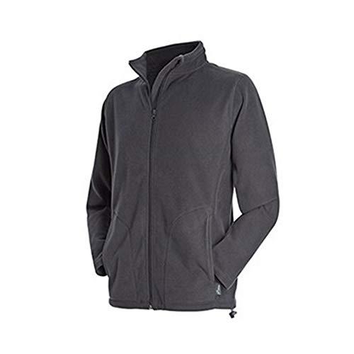 Stedman - Polaire zippée Active - Homme (XL) (Gris)