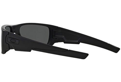 Oakley Crankshaft Polarized Sunglasses-Matte Black/Black Iridium