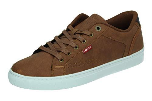 Levis COURTRIGHT, Zapatillas Hombre, marrón, 41 EU
