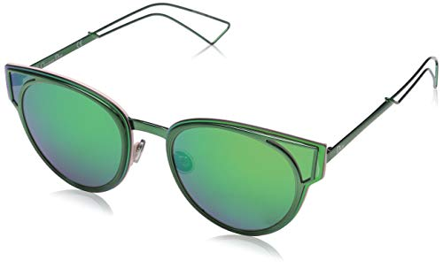 Dior DIORSCULPT Z9 QYG Gafas de sol, Verde (Green/Green Multilaye), 63 para Mujer