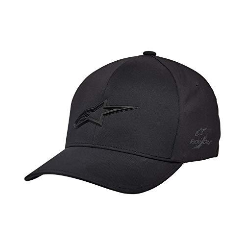 Alpinestars Ageless Delta Hat Gorra de béisbol, Negro, LXL para Hombre