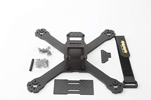 elegantstunning FPV Racing Drone QAV-XS 222 Kohlefaser-Stretch-X-Quadcopter-Rahmenkit 4mm-Arm für QAV-X 214 QAV-R 220 GEP-TX Mars 214