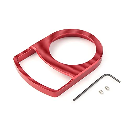 HMEILI Tapa de bloqueo para llave de encendido de motocicleta, accesorios para interruptor de scooter, compatible con Yamaha AEROX155 NVX155 NVX AEROX (color: rojo)