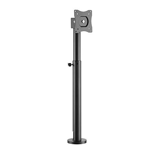 RICOO TS0111 Soporte Monitor Mesa Giratorio Inclinable Pantalla PC 17-23' (43-58cm) Base articulado Stand monitores Ordenador VESA 75x75 100x100