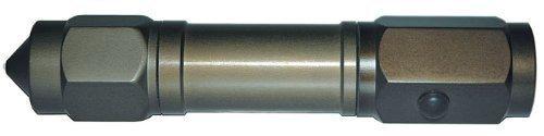 8 LED super claires armée-lampe torche haute performance cas diamètre: 2,8 cm-couleur: vert olive