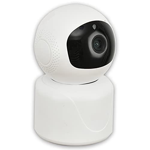 Sistema de cámara de Seguridad para el hogar, 1080P HD WiFi, cámara inalámbrica para el hogar, cámara PTZ para Mascotas, Monitor de bebé, cámara niñera con visión Nocturna, Audio bidireccional,