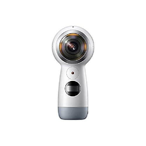 Samsung Gear 360 (2017) - Cámara 360º (4K, Bluetooth v4.1, batería de 1160 mAh, Memoria de hasta 256GB), Color Blanco- Versión española