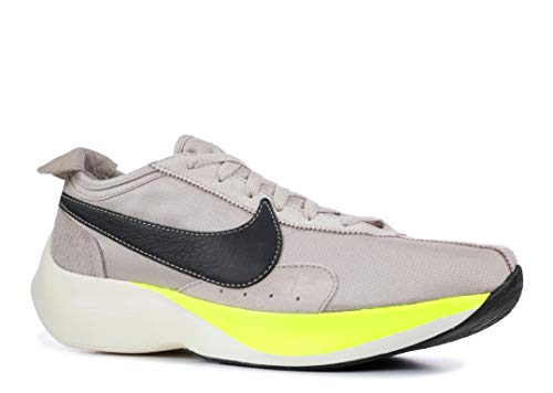 Nike Moon Racer Herren Running Trainers AQ4121 Sneakers Schuhe (UK 9 US 10 EU 44, String Black Volt sail 200)