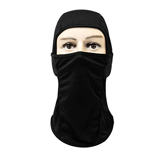 Iusun Balaclava Windproof Mask Breathable Dustproof Summer/Cold Weather Face Sunscreen Sun Protection Quick-Drying for Running Cycling Skiing Hiking Outdoor Sports Men & Women