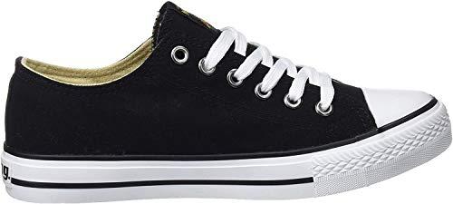 MTNG emi, Zapatillas de Deporte para Mujer, Negro (Canvas Negro), 39 EU