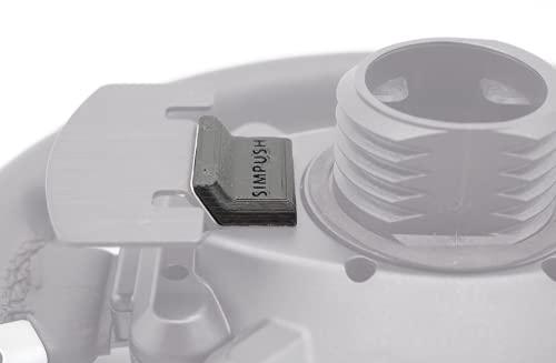 SIMPUSH スラストマスター Thrustmaster T-GT 磁性パドルシフト マグネットパーツ 改造用パーツ