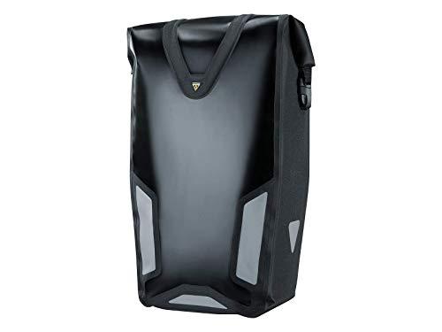 Topeak Pannier Dx Drybag (Black, 11x11.8/7.1x25.6-Inch)